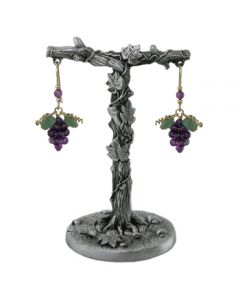 Pewter Grapevine Earring Stand