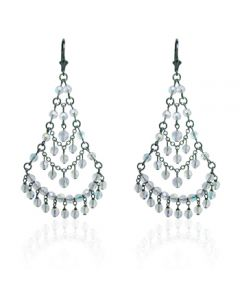 Victorian Crystal Chandelier Earrings
